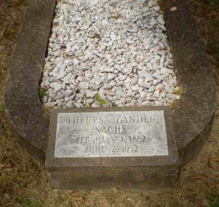 SACHS, THERESA - Craighead County, Arkansas   THERESA SACHS - Arkansas Gravestone Photos