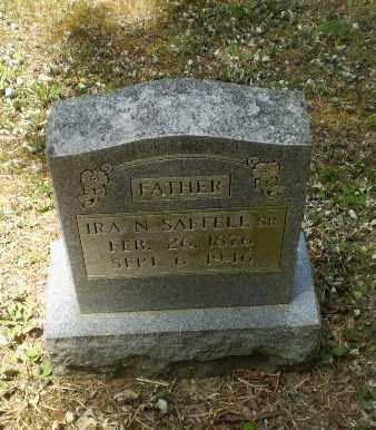 SAFFELL, SR, IRA N - Craighead County, Arkansas | IRA N SAFFELL, SR - Arkansas Gravestone Photos