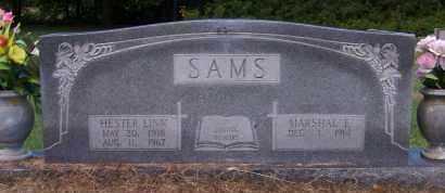 SAMS, MARSHAL E. - Craighead County, Arkansas | MARSHAL E. SAMS - Arkansas Gravestone Photos