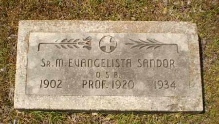 SANDOR, SISTER M. EVANGELISTA - Craighead County, Arkansas | SISTER M. EVANGELISTA SANDOR - Arkansas Gravestone Photos