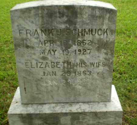 SCHMUCK, ELIZABETH - Craighead County, Arkansas | ELIZABETH SCHMUCK - Arkansas Gravestone Photos