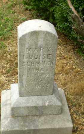 SCHMUCK, MARY LOUISE - Craighead County, Arkansas | MARY LOUISE SCHMUCK - Arkansas Gravestone Photos