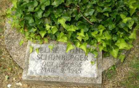 SCHONBERGER, ELISE - Craighead County, Arkansas | ELISE SCHONBERGER - Arkansas Gravestone Photos