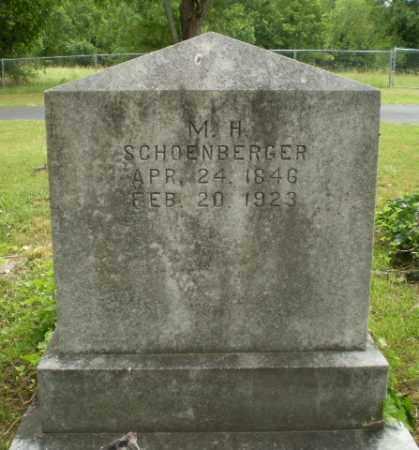 SCHOENBERGER, M.H. - Craighead County, Arkansas | M.H. SCHOENBERGER - Arkansas Gravestone Photos