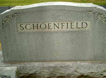 SCHOENFIELD FAMILY, MONUMENT - Craighead County, Arkansas | MONUMENT SCHOENFIELD FAMILY - Arkansas Gravestone Photos