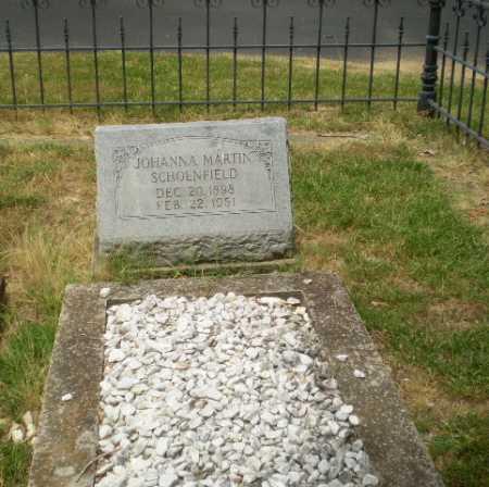 MARTIN SCHOENFIELD, JOHANNA - Craighead County, Arkansas   JOHANNA MARTIN SCHOENFIELD - Arkansas Gravestone Photos