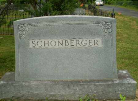 SCHONBERGER FAMILY, MONUMENT - Craighead County, Arkansas   MONUMENT SCHONBERGER FAMILY - Arkansas Gravestone Photos