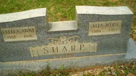 SHARP, CLELLA ANNE - Craighead County, Arkansas   CLELLA ANNE SHARP - Arkansas Gravestone Photos