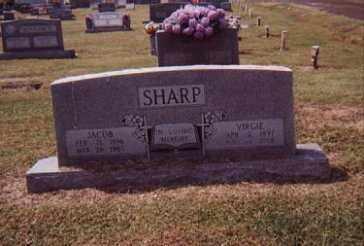 HUSKEY SHARP, VERGIE - Craighead County, Arkansas | VERGIE HUSKEY SHARP - Arkansas Gravestone Photos