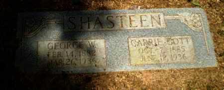 SHASTEEN, CARRIE - Craighead County, Arkansas | CARRIE SHASTEEN - Arkansas Gravestone Photos