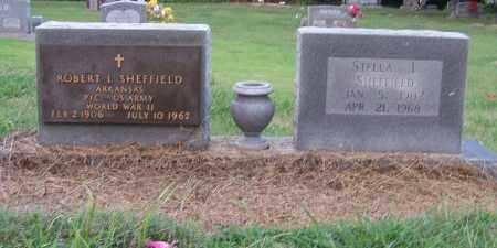SHEFFIELD  (VETERAN WWII), ROBERT L. - Craighead County, Arkansas | ROBERT L. SHEFFIELD  (VETERAN WWII) - Arkansas Gravestone Photos