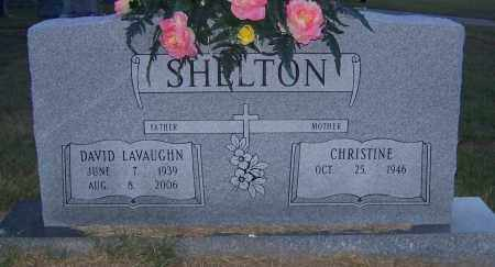 SHELTON, DAVID LAVAUGHN - Craighead County, Arkansas   DAVID LAVAUGHN SHELTON - Arkansas Gravestone Photos