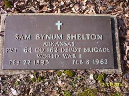 SHELTON (VETERAN WWI), SAM  BYNUM - Craighead County, Arkansas | SAM  BYNUM SHELTON (VETERAN WWI) - Arkansas Gravestone Photos