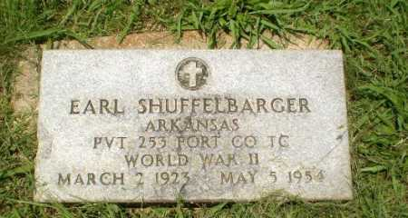 SHUFFELBARGER  (VETERAN WWII), EARL - Craighead County, Arkansas | EARL SHUFFELBARGER  (VETERAN WWII) - Arkansas Gravestone Photos