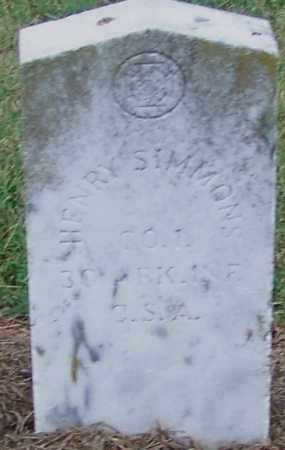 SIMMONS  (VETERAN CSA), HENRY - Craighead County, Arkansas | HENRY SIMMONS  (VETERAN CSA) - Arkansas Gravestone Photos