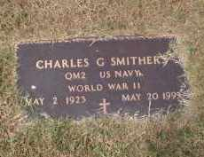 SMITHERS (VETERAN WWII), CHARLES G - Craighead County, Arkansas | CHARLES G SMITHERS (VETERAN WWII) - Arkansas Gravestone Photos