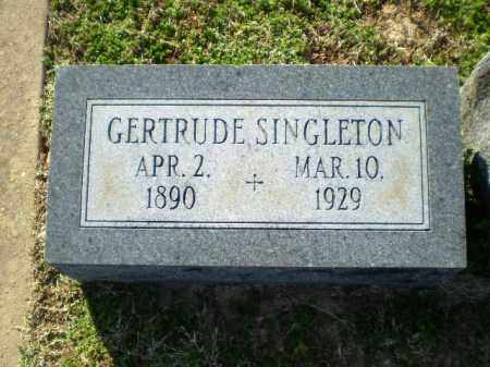 SINGLETON, GERTRUDE - Craighead County, Arkansas | GERTRUDE SINGLETON - Arkansas Gravestone Photos