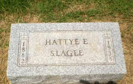 SLAGLE, HATTYE E - Craighead County, Arkansas   HATTYE E SLAGLE - Arkansas Gravestone Photos