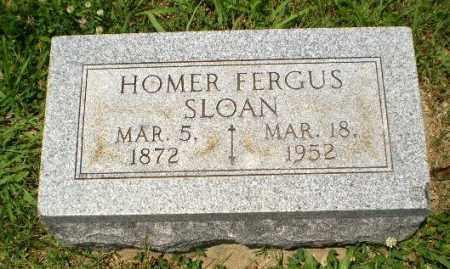 SLOAN, HOMER FERGUS - Craighead County, Arkansas   HOMER FERGUS SLOAN - Arkansas Gravestone Photos