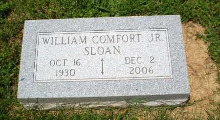 SLOAN, JR (VETERAN KOR), WILLIAM COMFORT - Craighead County, Arkansas | WILLIAM COMFORT SLOAN, JR (VETERAN KOR) - Arkansas Gravestone Photos