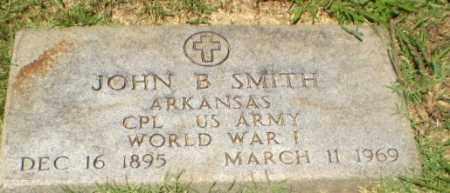 SMITH  (VETERAN WWI), JOHN B - Craighead County, Arkansas | JOHN B SMITH  (VETERAN WWI) - Arkansas Gravestone Photos