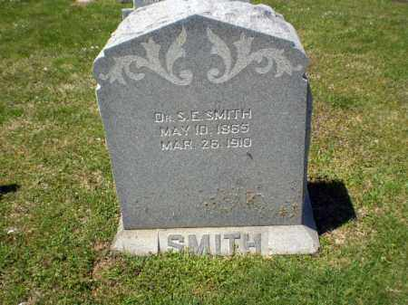 SMITH, S E - Craighead County, Arkansas | S E SMITH - Arkansas Gravestone Photos