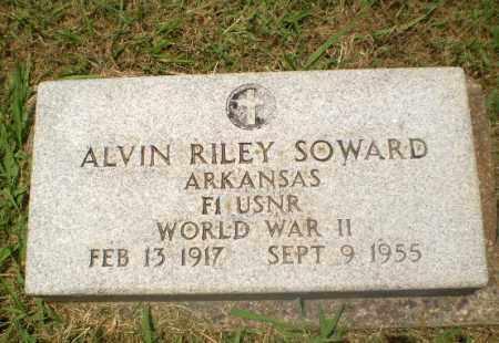SOWARD (VETERAN WWII), ALVIN RILEY - Craighead County, Arkansas | ALVIN RILEY SOWARD (VETERAN WWII) - Arkansas Gravestone Photos