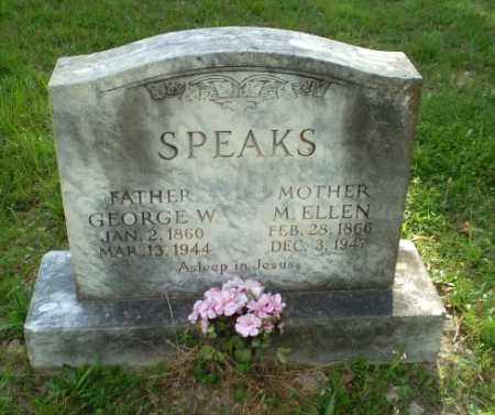 SPEAKS, GEORGE W - Craighead County, Arkansas | GEORGE W SPEAKS - Arkansas Gravestone Photos