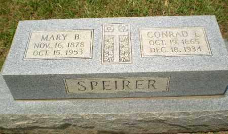 SPEIRER, CONRAD L - Craighead County, Arkansas | CONRAD L SPEIRER - Arkansas Gravestone Photos