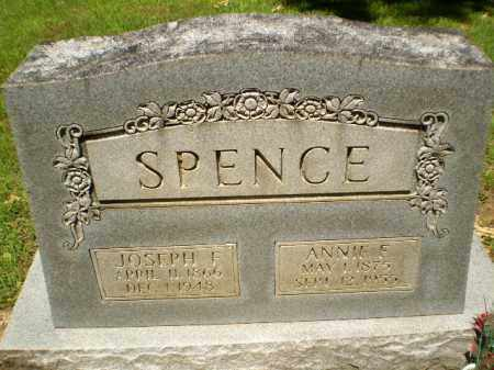 SPENCE, JOSEPH F - Craighead County, Arkansas | JOSEPH F SPENCE - Arkansas Gravestone Photos