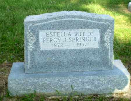 SPRINGER, ESTELLA - Craighead County, Arkansas | ESTELLA SPRINGER - Arkansas Gravestone Photos
