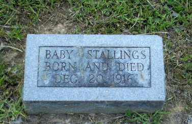 STALLINGS, BABY - Craighead County, Arkansas | BABY STALLINGS - Arkansas Gravestone Photos