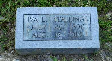 STALLINGS, IVA L - Craighead County, Arkansas   IVA L STALLINGS - Arkansas Gravestone Photos