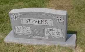 STEVENS, G. EDGAR - Craighead County, Arkansas | G. EDGAR STEVENS - Arkansas Gravestone Photos