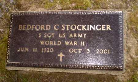 STOCKINGER  (VETERAN WWII), BEDFORD C - Craighead County, Arkansas   BEDFORD C STOCKINGER  (VETERAN WWII) - Arkansas Gravestone Photos