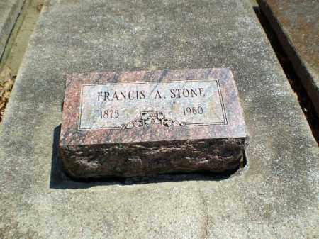 STONE, FRANCIS A - Craighead County, Arkansas   FRANCIS A STONE - Arkansas Gravestone Photos