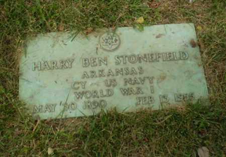 STONEFIELD  (VETERAN WWI), HARRY BEN - Craighead County, Arkansas | HARRY BEN STONEFIELD  (VETERAN WWI) - Arkansas Gravestone Photos