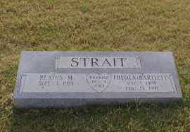 BARTLETT STRAIT, THEOLA - Craighead County, Arkansas | THEOLA BARTLETT STRAIT - Arkansas Gravestone Photos