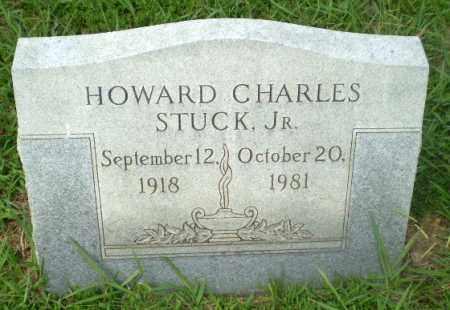 STUCK, JR (VETERAN WWII), HOWARD CHARLES - Craighead County, Arkansas   HOWARD CHARLES STUCK, JR (VETERAN WWII) - Arkansas Gravestone Photos