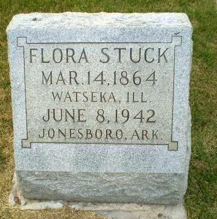 STUCK, FLORA - Craighead County, Arkansas | FLORA STUCK - Arkansas Gravestone Photos