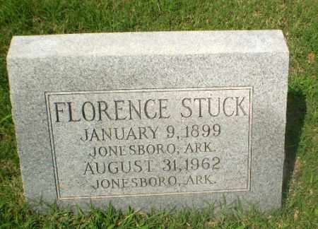 STUCK, FLORENCE - Craighead County, Arkansas | FLORENCE STUCK - Arkansas Gravestone Photos