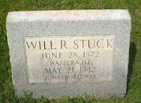 STUCK, WILL R - Craighead County, Arkansas | WILL R STUCK - Arkansas Gravestone Photos