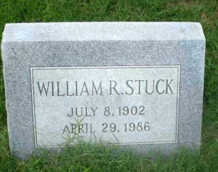 STUCK, WILLIAM R - Craighead County, Arkansas | WILLIAM R STUCK - Arkansas Gravestone Photos