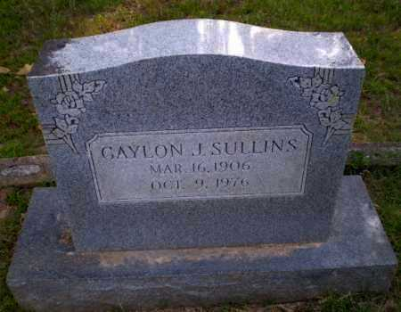 SULLINS, GAYLON J - Craighead County, Arkansas   GAYLON J SULLINS - Arkansas Gravestone Photos