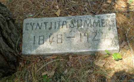 SUMMERS, CYNTHIA - Craighead County, Arkansas | CYNTHIA SUMMERS - Arkansas Gravestone Photos