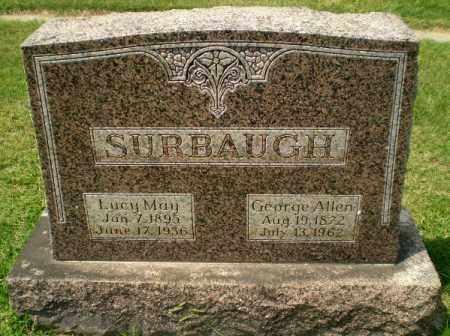 SURBAUGH, GEORGE ALLEN - Craighead County, Arkansas | GEORGE ALLEN SURBAUGH - Arkansas Gravestone Photos