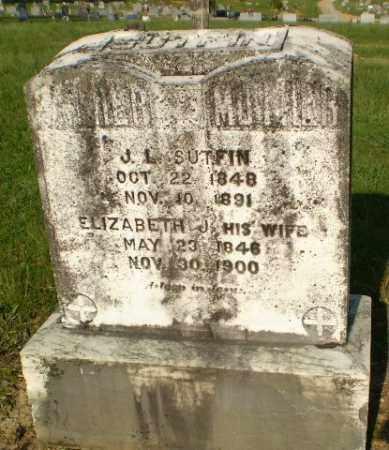 SUTFIN, ELZIABETH J - Craighead County, Arkansas   ELZIABETH J SUTFIN - Arkansas Gravestone Photos