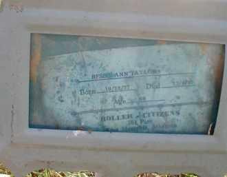 TAYLOR, BESSIE ANN - Craighead County, Arkansas | BESSIE ANN TAYLOR - Arkansas Gravestone Photos