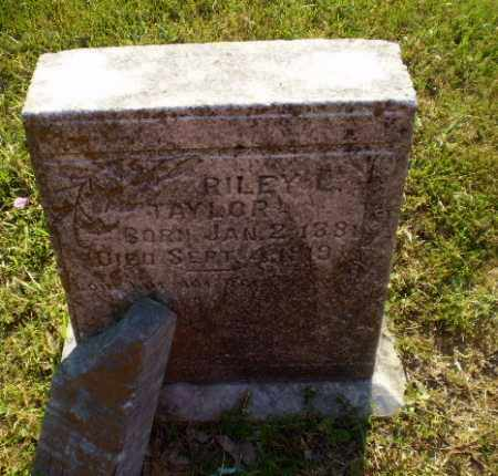 TAYLOR, RILEY L - Craighead County, Arkansas | RILEY L TAYLOR - Arkansas Gravestone Photos