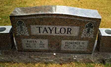 TAYLOR, FLORENCE V - Craighead County, Arkansas | FLORENCE V TAYLOR - Arkansas Gravestone Photos